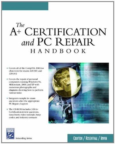 9781584503729: The A+ Certification & PC Repair Handbook (Networking Series)