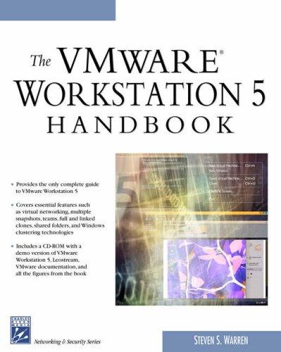 9781584503934: The VMWare Workstation 5 Handbook (Networking & Security)