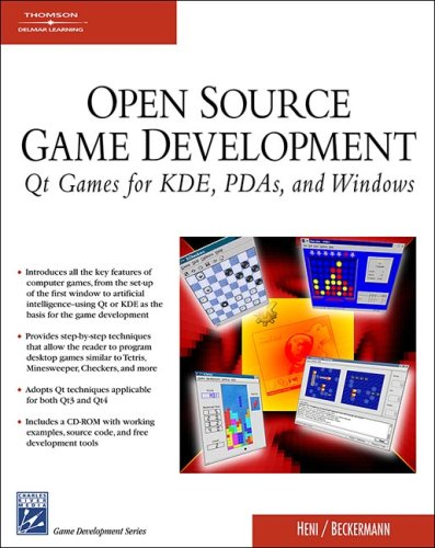 9781584504061: Open Source Game Programming: Qt Games for KDE, PDA's, and Windows (Charles River Media Game Development)