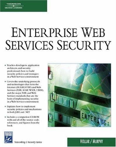 9781584504139: Enterprise Web Services Security (Internet Series)
