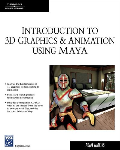 9781584504856: Introduction to 3d Graphics and Animation Using Maya (Charles River Media Graphics)