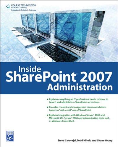 9781584506010: Inside SharePoint 2007 Administration