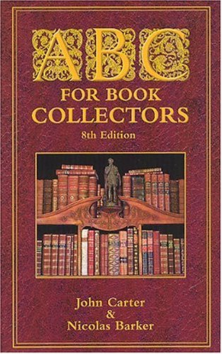 9781584561125: ABC for Book Collectors
