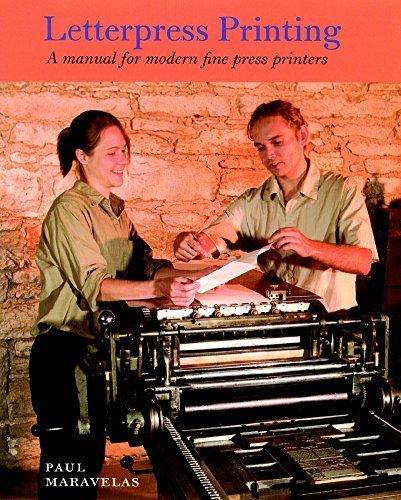 9781584561675: Letterpress Printing: A Manual for Modern Fine Press Printers