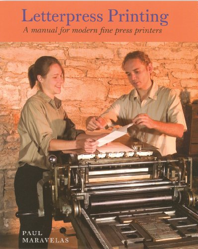 9781584561743: Letterpress Printing, A Manual for Modern Fine Press Printers