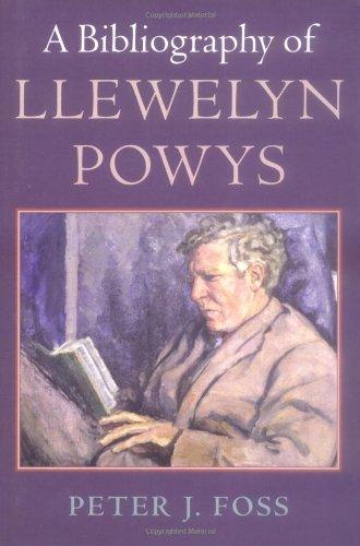 9781584562054: A Bibliography of Llewelyn Powys