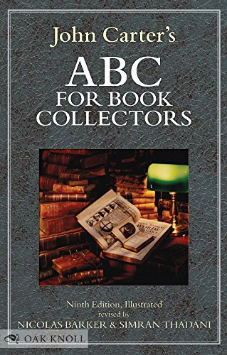 9781584563525: ABC for Book Collectors