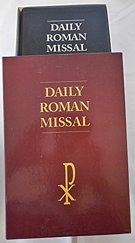 Daily Roman Missal - LARGE PRINT Black Leather Bound: James Soc�as
