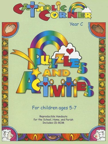 9781584593621: Catholic Corner: Puzzles and Activities: Year C, Ages 5-7