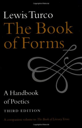 9781584650225: The Book of Forms: A Handbook of Poetics