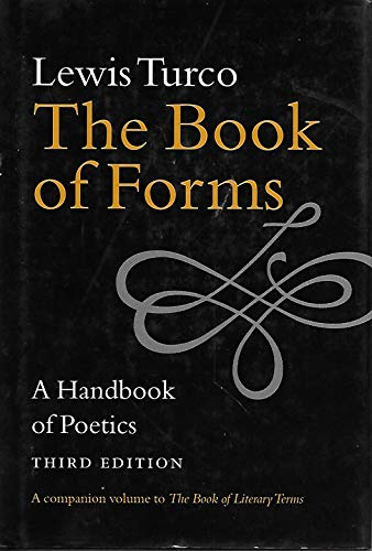 9781584650416: The Book of Forms: A Handbook of Poetics