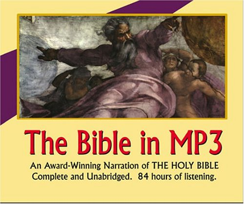 9781584723622: The Bible (The Bible in Audio)