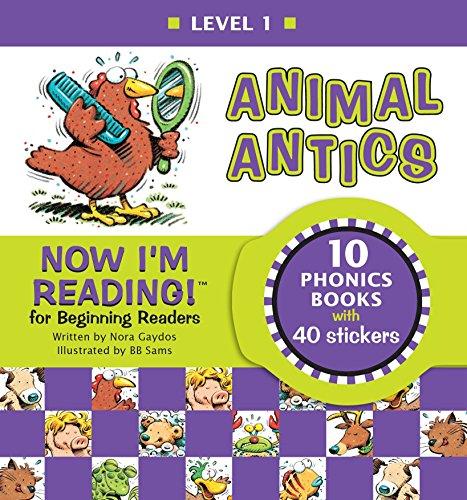 9781584760733: Now I'm Reading!: Animal Antics - Level 1