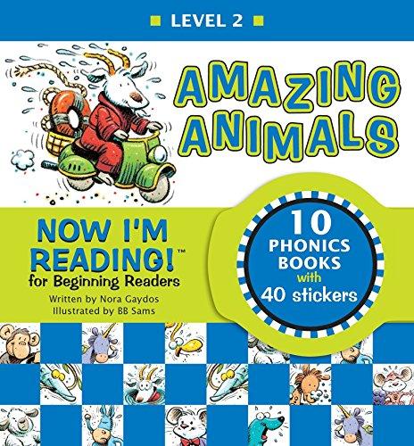 9781584760740: Now I'm Reading!: Amazing Animals - Level 2