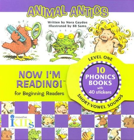 9781584761594: Now I'm Reading! Level One: Animal Antics