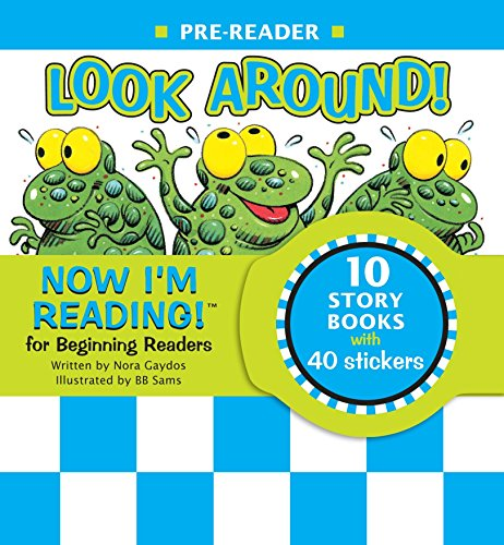 9781584761679: Now I'm Reading! Pre-Reader: Look Around! (Nir Leveled Readers)