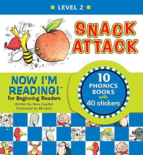 Snack Attack: Now I'm Reading!: Nora Gaydos; BB Sams (Illustrator)