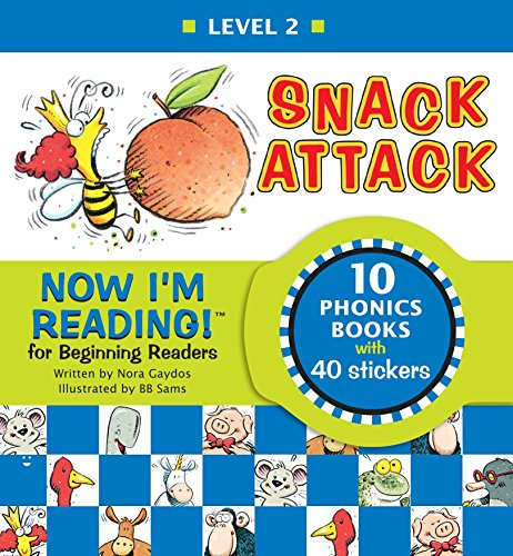 9781584762645: Now I'm Reading!: Snack Attack - Level 2