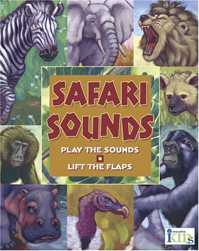 Hear and There Book: Safari Sounds (Here and There): Ring, Susan