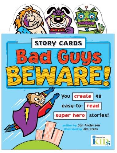 9781584762713: Story Cards: Bad Guys Beware!