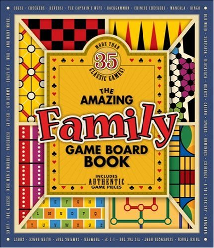 9781584763611: The Amazing Family Game Board Book (Amazing Game Board Books)