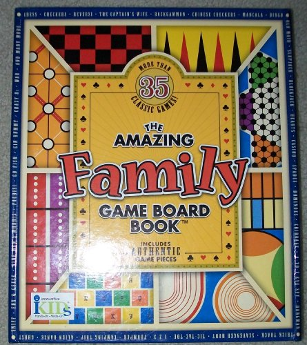9781584763833: The Amazing Family Game Board Book