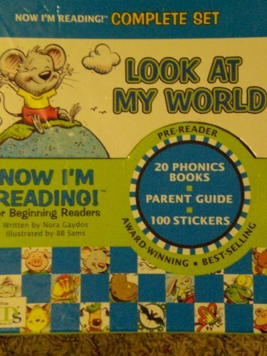 Now I'm Reading! For Beginning Readers Complete Set-look At My World, 20 Books, Parent Guide, and St (1584764015) by Nora Gaydos