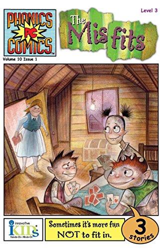 9781584764212: The Misfits: Phonics Comics, Vol. 10 Issue 1, Level 3
