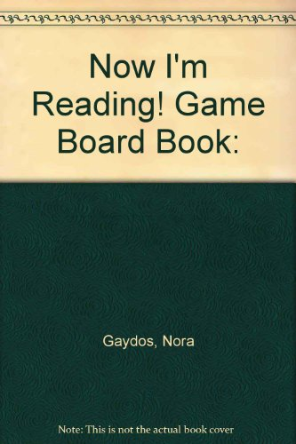 9781584764687: Now I'm Reading! Game Board Book