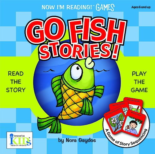 Nir! Games: Go Fish Stories! (Now I'm Reading!) (1584766689) by Gaydos, Nora