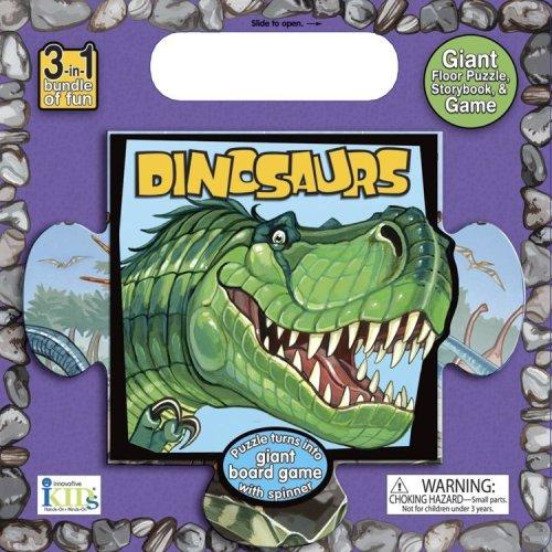 My Giant Floor Puzzle: Dinosaurs: Rabe, Tish