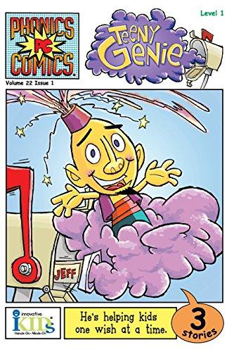 9781584768135: TEENY GENIE (Phonics Comics, Level 1)