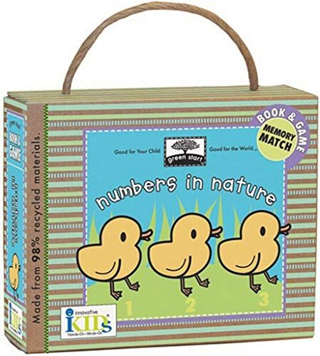 9781584769316: Green Start: Numbers in Nature (Book and Game) - Made With 98% Recycled Materials (Green Start Games)