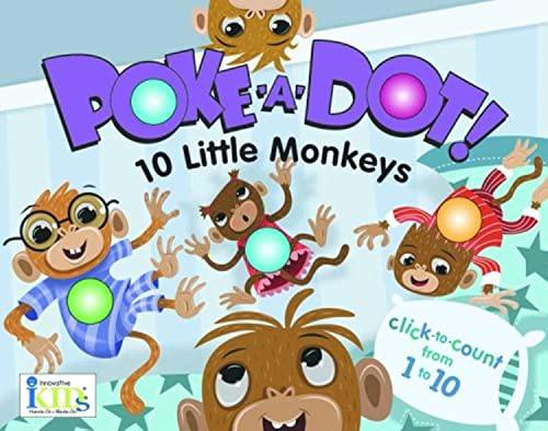 9781584769385: POKE A DOT 10 LITTLE MONKEYS