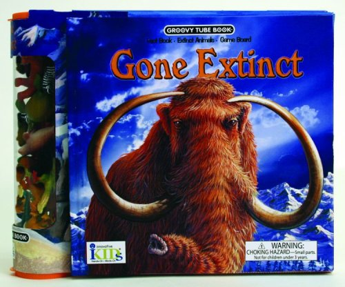 9781584769415: Groovy Tube Books: Gone Extinct! (Fact Book, Game Board and Collectible Figurines)