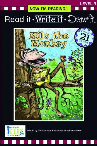 9781584769699: Nir! Read It, Write It, Draw It: Milo the Monkey - Level 3 (Now I Can Read!: Level 3)