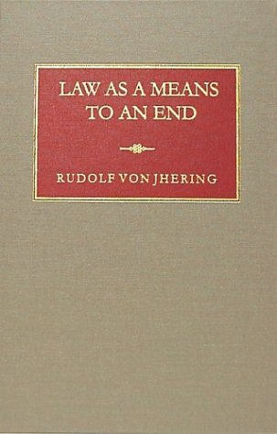 9781584770091: Law As a Means to an End (Modern Legal Philosophy Series, 5)