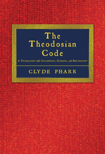 9781584771463: The Theodosian Code and Novels and the Sirmondian Constitutions