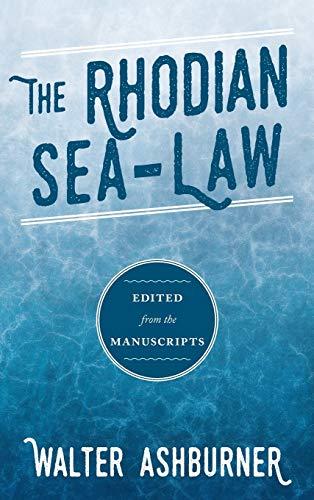 9781584771739: Nomos Rodion Nautikos: The Rhodian Sea-Law (English, Ancient Greek and Ancient Greek Edition)