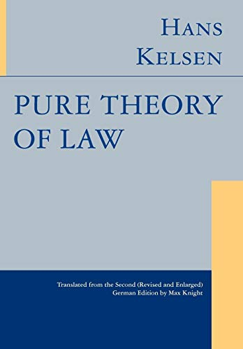 9781584772064: Pure Theory of Law