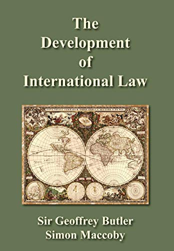 9781584772156: The Development of International Law (Contributions to International Law and Diplomacy.)
