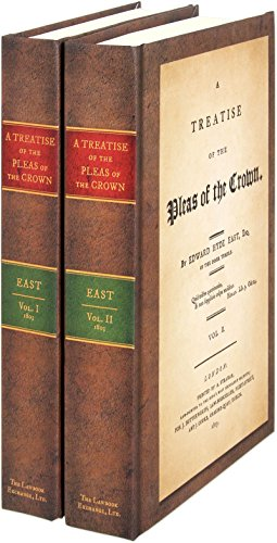 9781584773849: A Treatise of the Pleas of the Crown. 2 Vols. (1803)