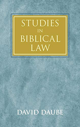 9781584774310: Studies in Biblical Law