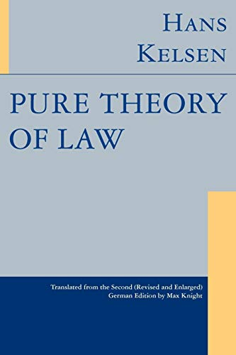 9781584775782: Pure Theory of Law