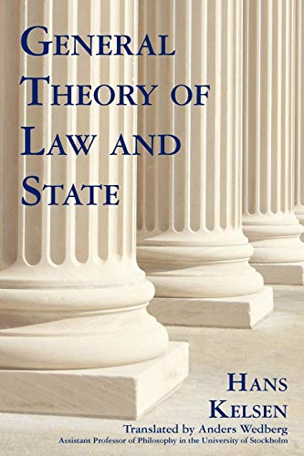 General Theory of Law And State: Hans Kelsen