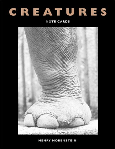 Creatures: Note Cards (1584790954) by Henry Horenstein