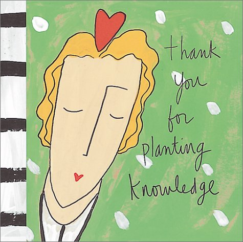 Thank You for Planting Knowledge (Gestures of: Magsamen, Sandra