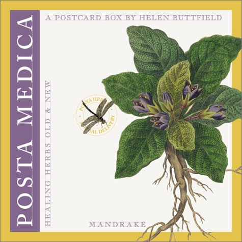 Posta Medica: Healing Herbs Old and New - Boxed Postcard Set: Buttfield, Helen