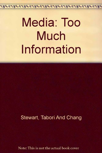 9781584792017: Too Much Information: Media - Blank Journal