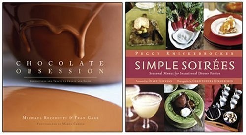 9781584796213: Chocolate Obsession/Simple Soirees Two-Pack: A Special Set for Amazon.com Shoppers